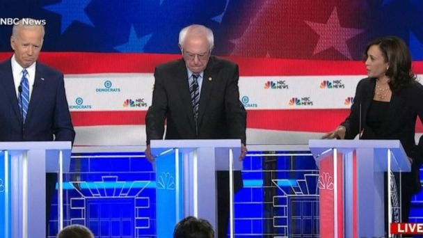 VIDEO: Biden and Harris face off on second night of debates