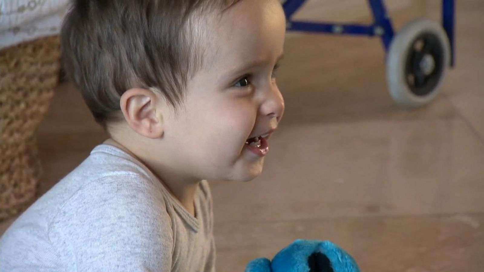1-year-old who had surgery inside womb to correct spina