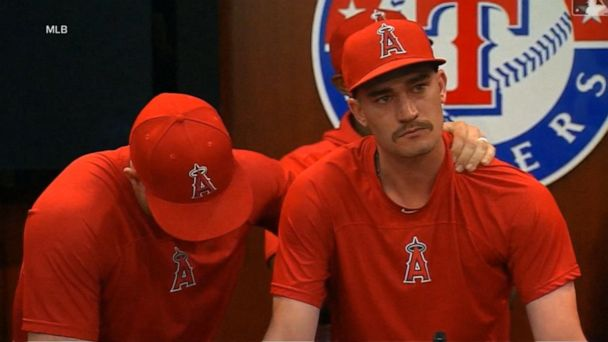 Heartbroken Angels honor 27-year-old pitcher who died suddenly