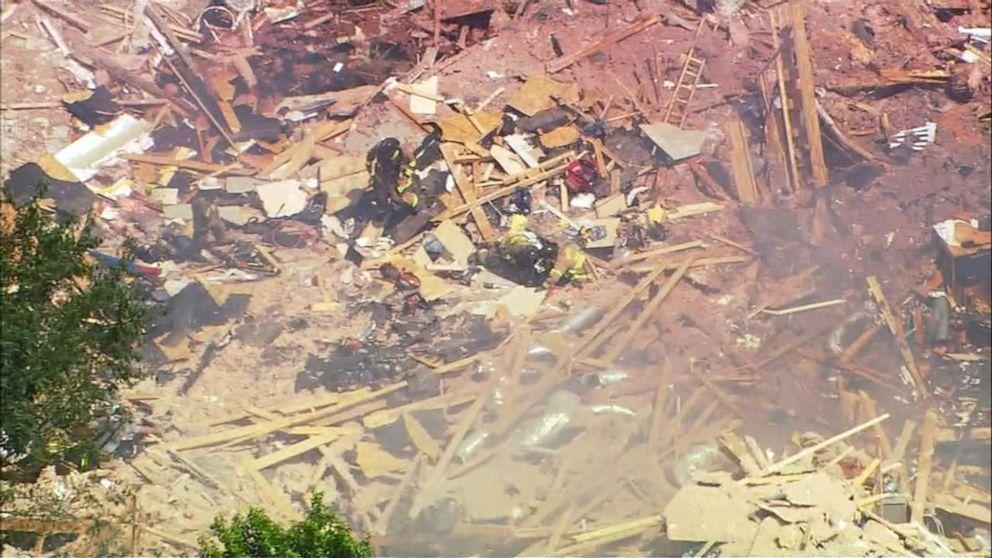 New surveillance footage after North Carolina home explosion