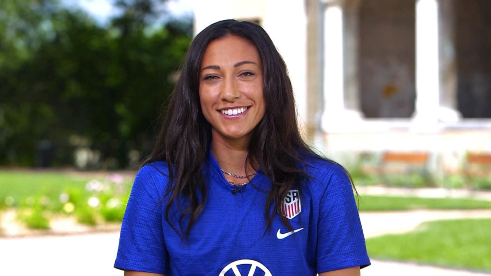 World Cup star Christen Press was ready for 'shooting star
