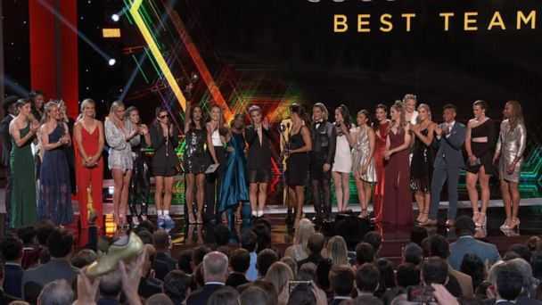 World Cup champs steal the show at the ESPYS