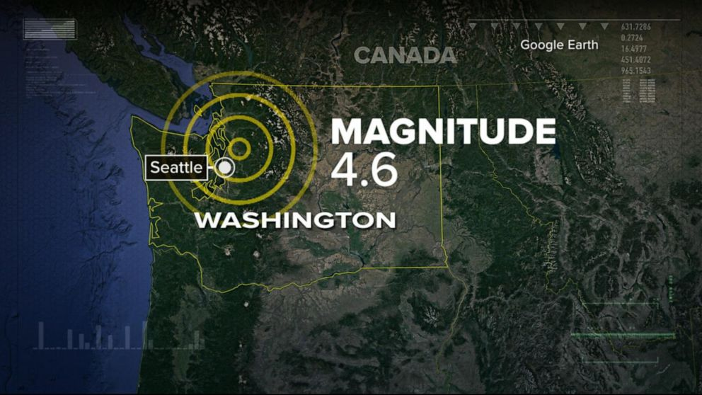 Seattle hit by 4 6 earthquake