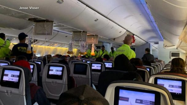 Dozens of passengers injured in severe plane turbulence