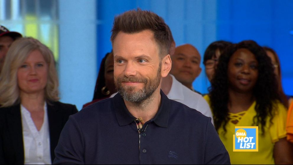 'GMA' Hot List: Joel McHale shares cute pics of his dogs