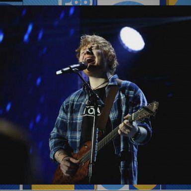Ed Sheeran's tour beats U2 as the all-time highest grossing tour