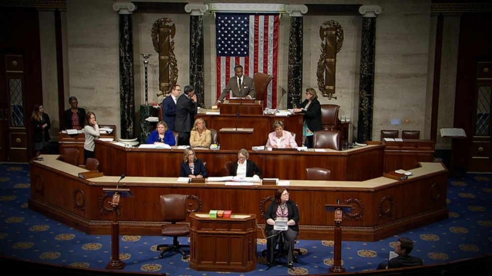 House adopts resolution condemning president after racist attacks