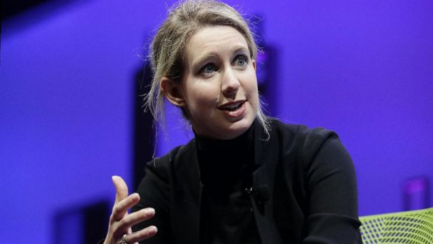 Disgraced Theranos founder Elizabeth Holmes in court