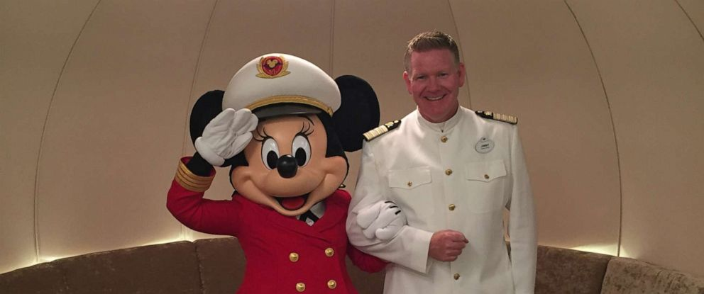 PHOTO: Jimmy Lynett is the Cruise Director on the Disney Dream.