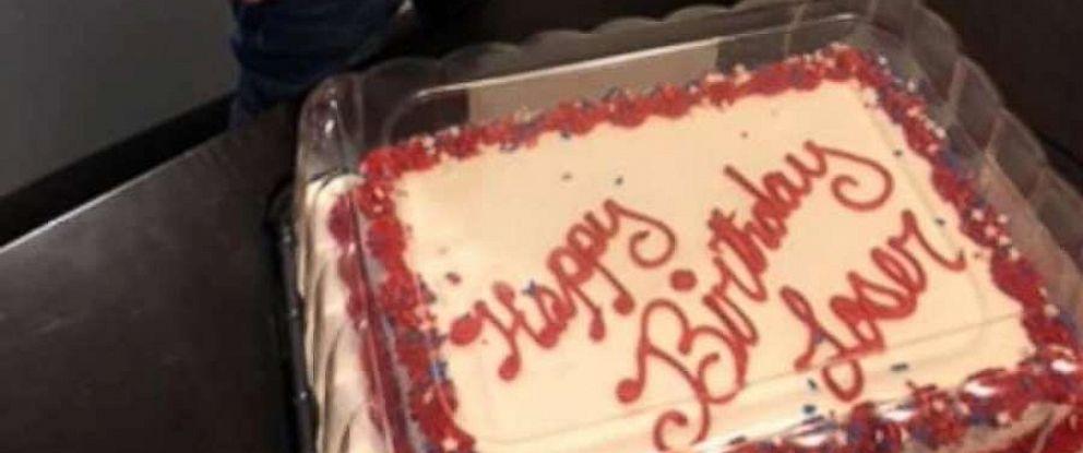 PHOTO: Elizabeth Jones had a cake fail for her second birthday.