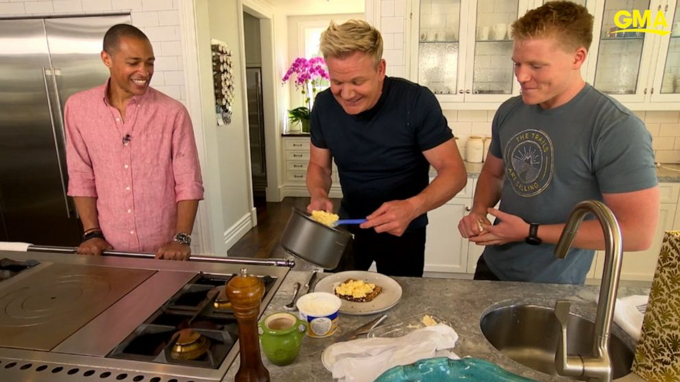 VIDEO: Gordon Ramsay shows us how to make perfect scrambled eggs