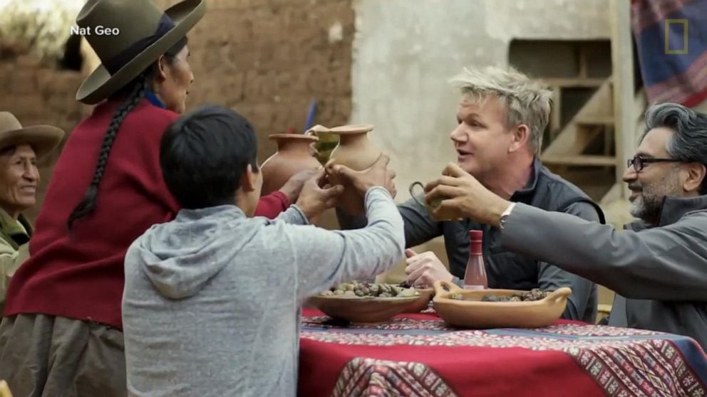 First look at Gordon Ramsay's new food show 'Uncharted'