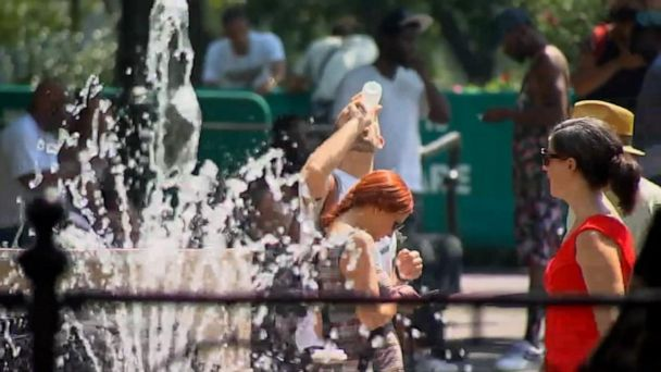 Heat index could reach as high as 115 degrees