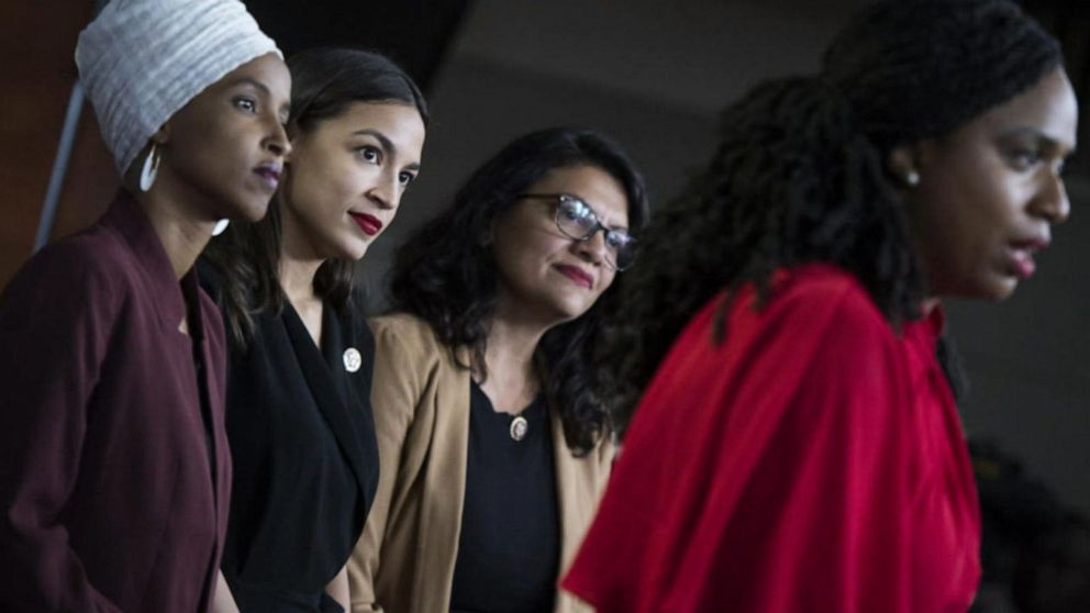 Trump calls AOC and 'The Squad' a 'very racist group of troublemakers'