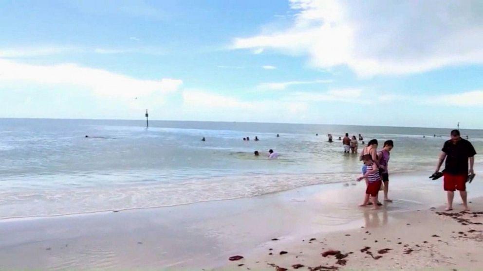 Lightning Strike On Florida Beach