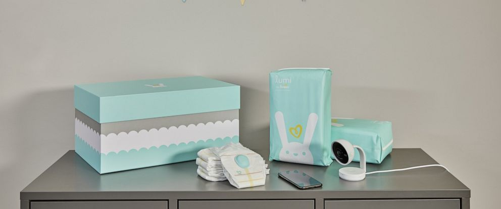 PHOTO: Lumi by Pampers new diapering system.