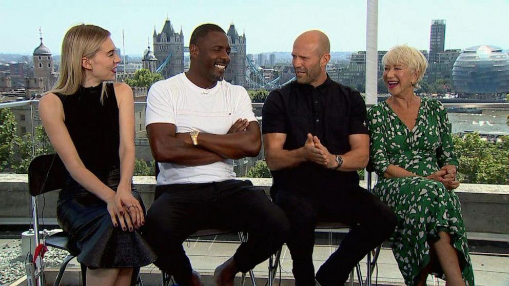 'Hobbs and Shaw' stars talk high-octane film