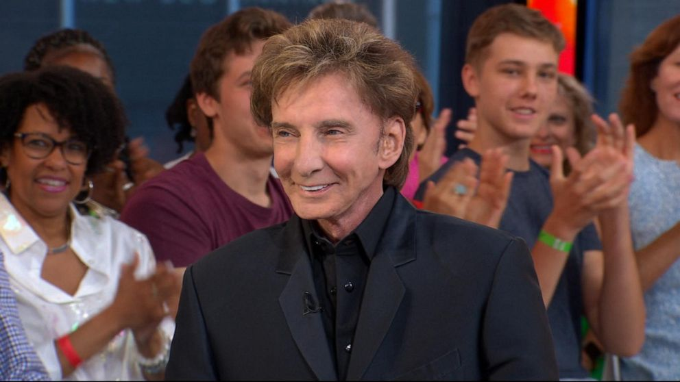 Catching up with Barry Manilow, live on 'GMA'