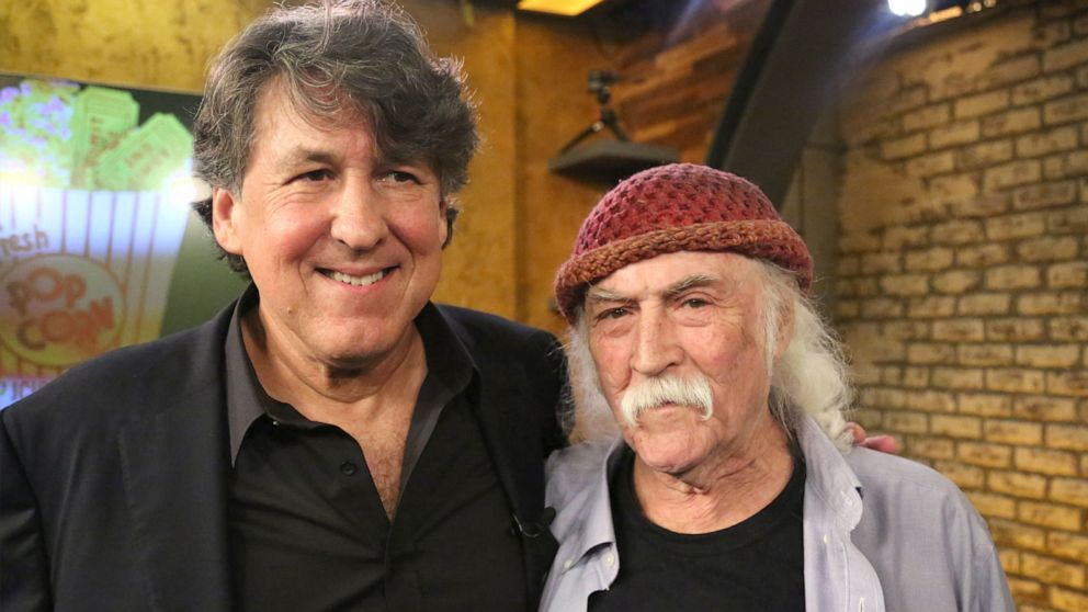 David Crosby and Cameron Crowe on their new film 'Remember My Name'