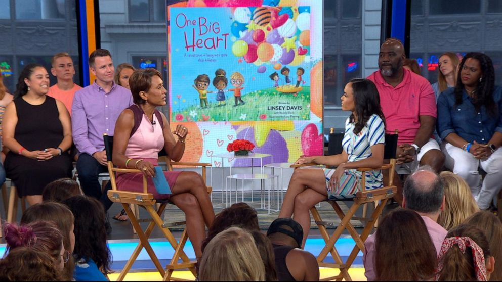 Linsey Davis shares the inspiration behind her new book 'One Big Heart'