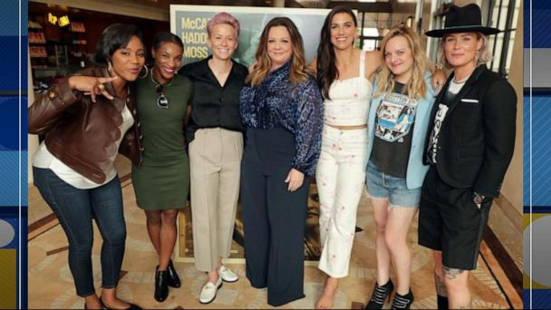 US Women's National Team invited to premiere of star-studded 'The Kitchen'