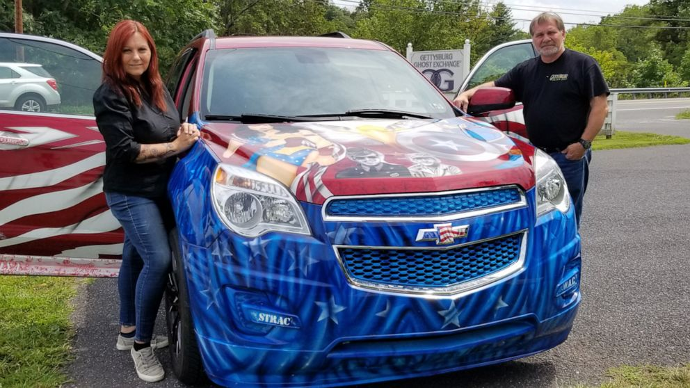 Husband and wife duo buy car to drive vets and children to doctor free of charge