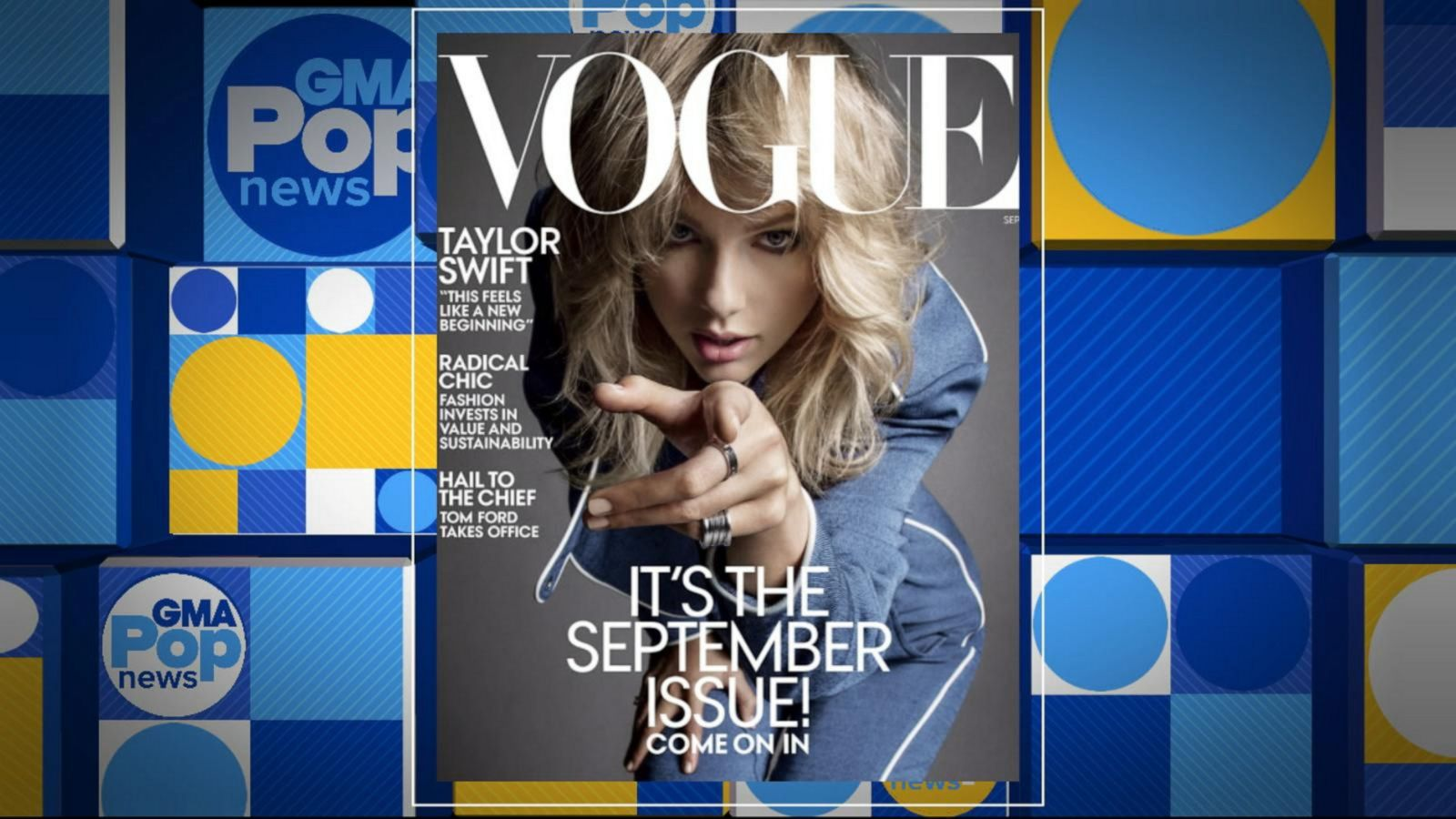 Taylor Swift graces cover of Vogue's September issue