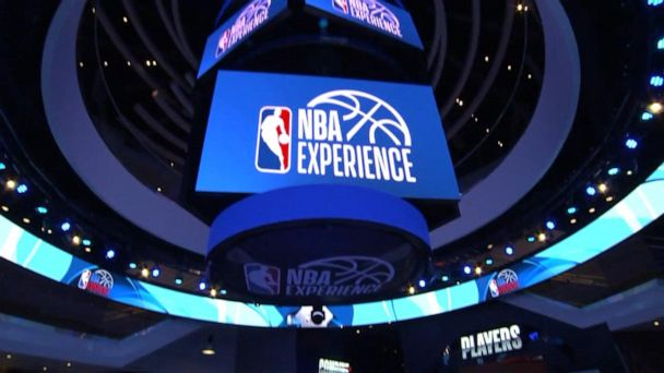 Behind the scenes at the NBA Experience