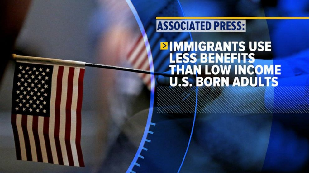 New Trump rule targets immigrants receiving federal assistance