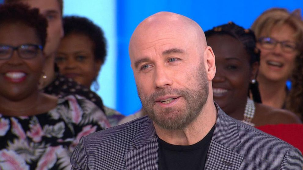 'GMA' Hot List: John Travolta shares the inspiration behind his shaved head