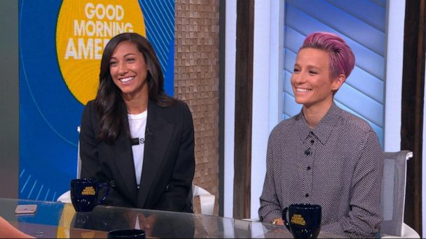 Rapinoe, Press speak out after pay mediation breaks down
