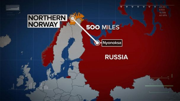 Norway detects radioactive material after Russian explosion