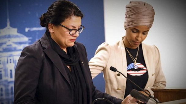 Reps. Omar and Tlaib fight back against Israel, Trump