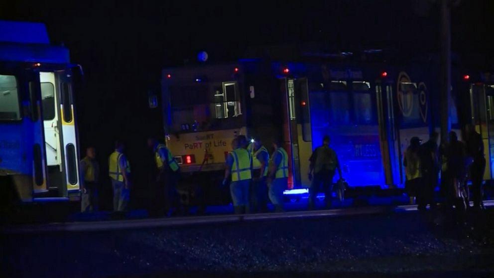 Dozens injured in California train derailment