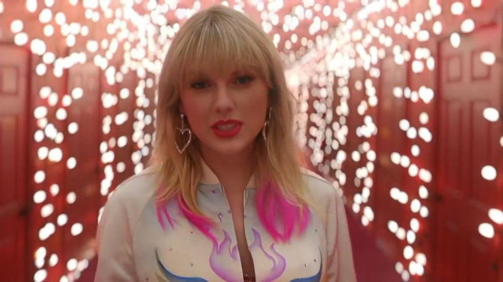 Taylor Swift Says She Ll Re Record Old Albums Drops Lover Music Video Video Abc News