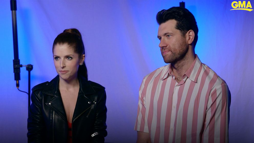 Anna Kendrick and Billy Eichner star in a new holiday film, 'Noelle'