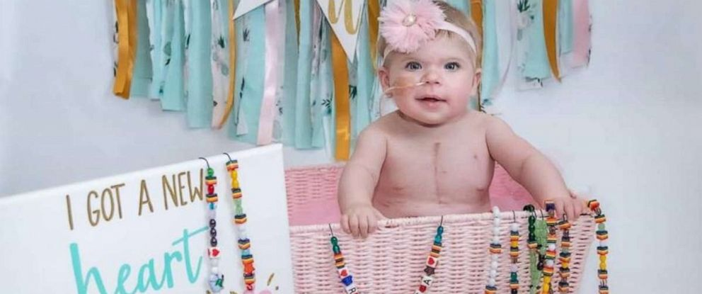 PHOTO: Rebecca Brown received a heart transplant in time for her 1st birthday.