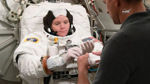 NASA astronaut accused of committing a crime from space