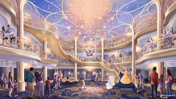 Disney reveals new cruise ship Disney Wish with new island details