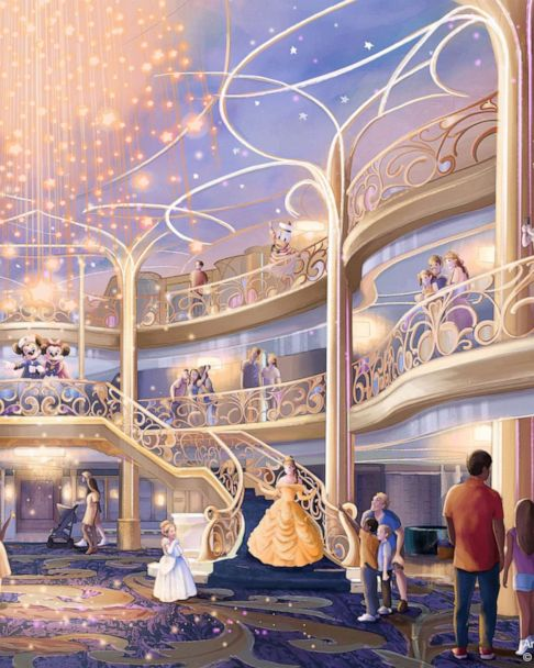 Disney Reveals New Cruise Ship Disney Wish With New Island Details Gma