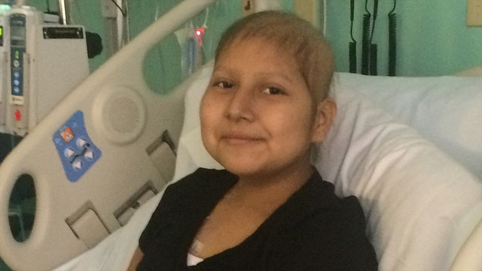Mom reunites with 14-year-old daughter with leukemia after