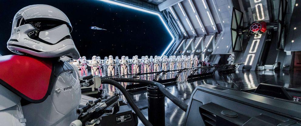 PHOTO: Star Wars: Rise of the Resistance opens Dec. 5, 2019 at Walt Disney World Resort in Florida and Jan. 17, 2020 at Disneyland Resort in California.