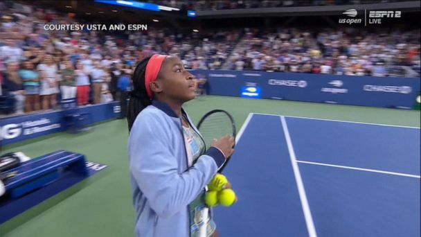 Coco Gauff scores epic 3-set win at US Open