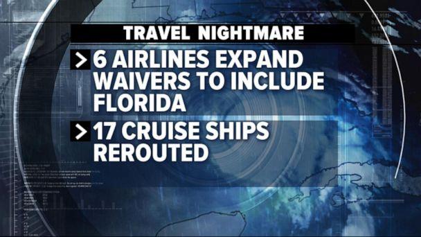 Airlines cancel flights as Hurricane Dorian looms