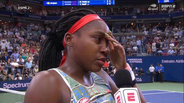 Naomi Osaka scores kudos after beating Coco Gauff