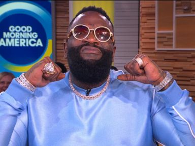 Rick Ross discusses his rise to fame as well as his new memoir on 'GMA'