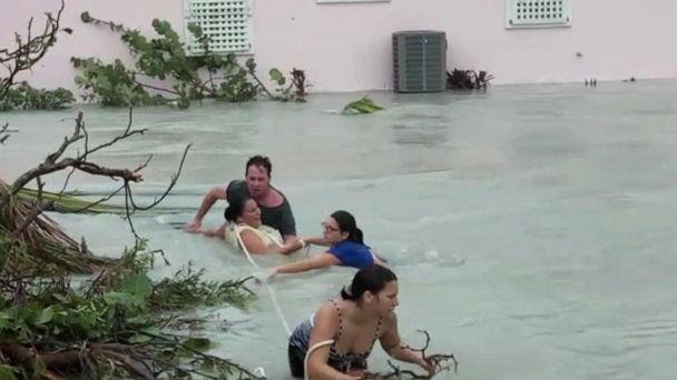 Bahamas faces destruction, chaos after Hurricane Dorian