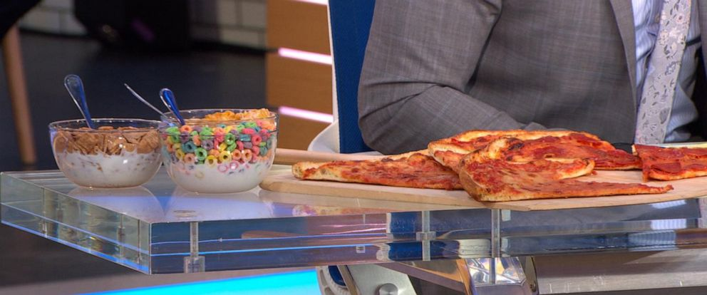 VIDEO: Is pizza healthier than cereal?