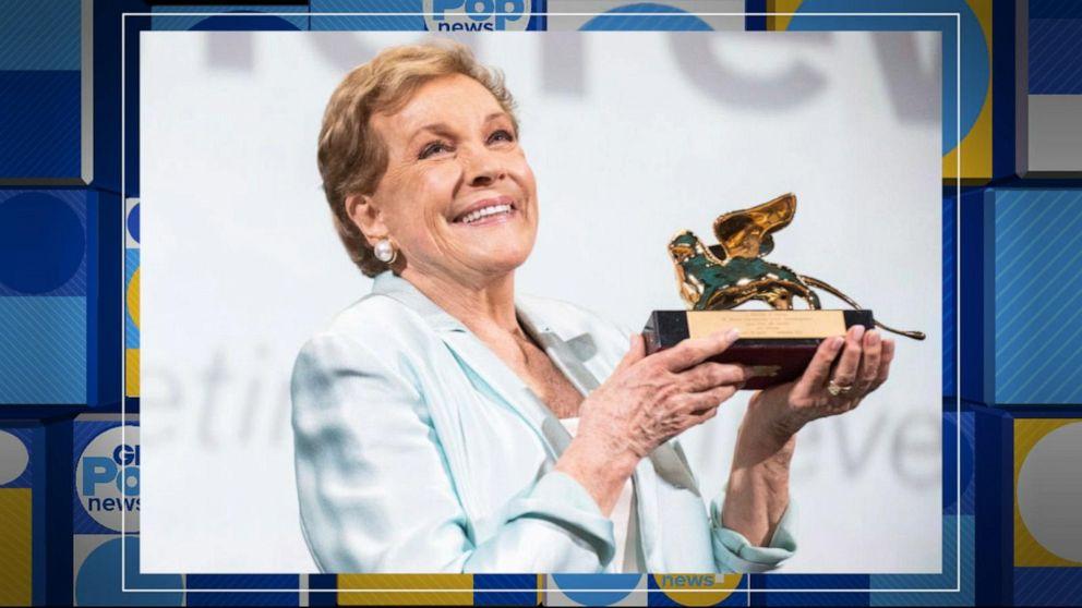 Julie Andrews receives Lifetime Achievement Award at the Venice Film Festival