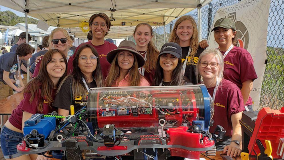 All-female robotics team wins major awards while slashing stereotypes of women, Latinos in STEM
